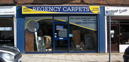 The Regency Carpets shop