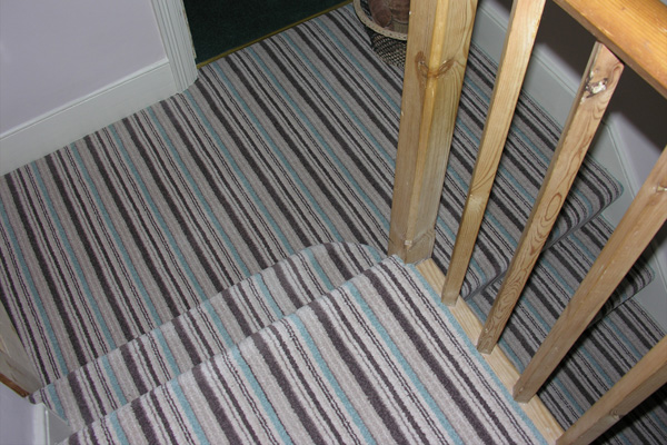 How To Lay Striped Carpet On Stairs And Landing Review