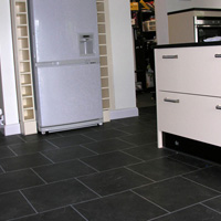 Karndean flooring in kitchen