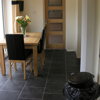 Karndean flooring in dining room