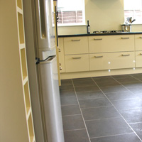 Karndean flooring - side view of kitchen