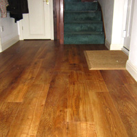 Karndean Art Select Summer Oak over hall